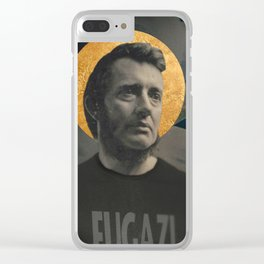 The First Straight Edge Saint Clear iPhone Case