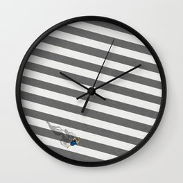 Shibuya Intersection Tokyo | Aerial Illustration Wall Clock