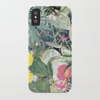cacti iPhone & iPod Cases featuring CACTI by Beth Hoeckel