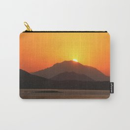 Sunset Over Piraeus Carry-All Pouch