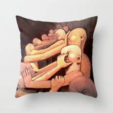 Subtle Civil War Throw Pillow