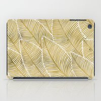 tropical iPad Cases featuring Tropical Gold by Cat Coquillette
