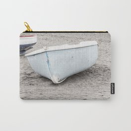 Lonely boats at the beach Carry-All Pouch