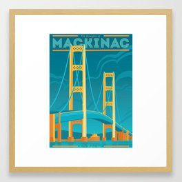 The Mighty Mac! Framed Art Print