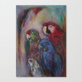 Well Hello Polly Canvas Print