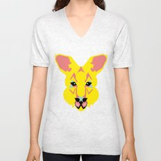 Skippy the Bush Kangaroo Unisex V-Neck