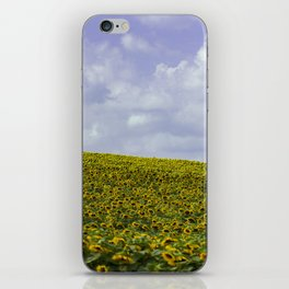 Field of Happiness - Sunflowers  iPhone Skin