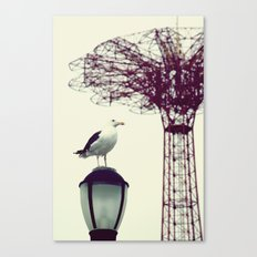 Coney Island Canvas Print