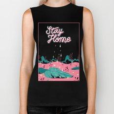 Stay Home Biker Tank