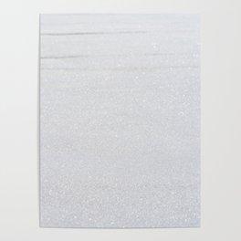 Snow Glitter Poster