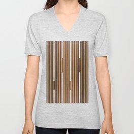 Twine Vertical Stripes Unisex V-Neck