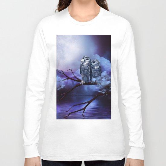 Cute couple owls Long Sleeve T-shirt