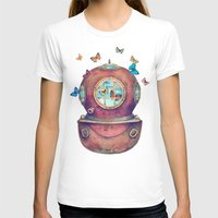 french T-shirts featuring Inner Space by Terry Fan