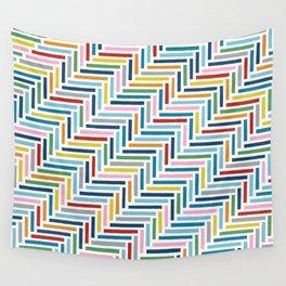 Herringbone 45 Colour Wall Tapestry