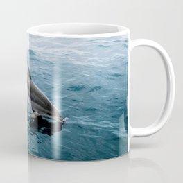Dolphin in the Atlantic Ocean - Wildlife Photography Coffee Mug