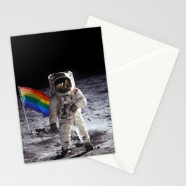 Queer On The Moon Stationery Cards