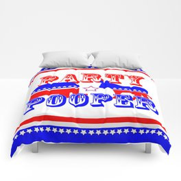 Election Party Pooper Comforters