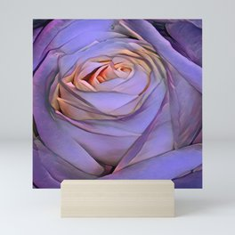 Violet rose Mini Art Print