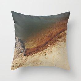 lakeside spectrum Throw Pillow