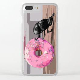 The Doughnut Collector Clear iPhone Case