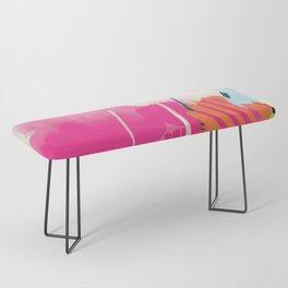 pink sky II Bench