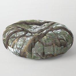 Live Oak Tree Floor Pillow