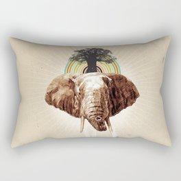 """Glue Network Print Series """"Environment & Animals"""" Rectangular Pillow"""
