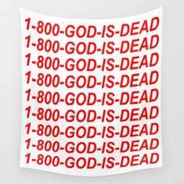 1-800-GOD-IS-DEAD Wall Tapestry