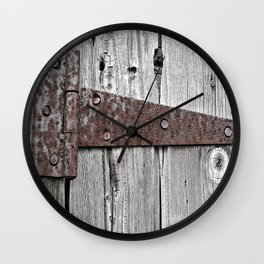 Hinge  Wall Clock