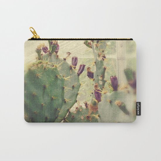 Glass House Cactus Carry-All Pouch