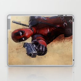 The Acrobatic Merc With A Mouth Wade Wilson - X-Force Laptop & iPad Skin