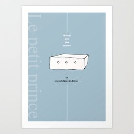 THE LITTLE PRINCE -le petit prince- Art Print