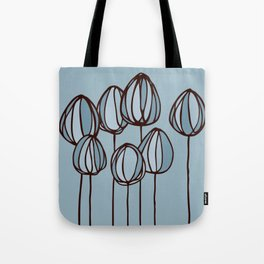 Beach flowers Tote Bag