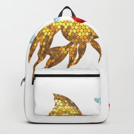 Fish in love Backpack