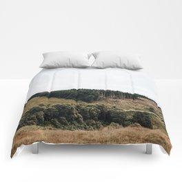 Scottish mountain landscape Comforters