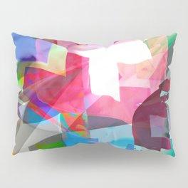 swissflag collage colorful Pillow Sham