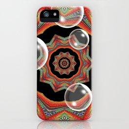 Pretty Bubbles iPhone Case