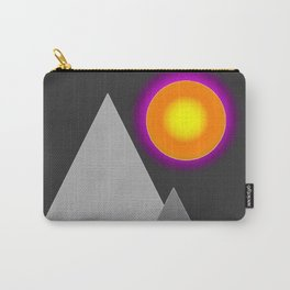 Gray mountains Carry-All Pouch