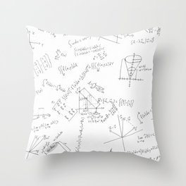 As Calculus Goes to Infinity... Throw Pillow