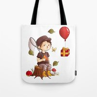 animal crossing Tote Bags featuring Animal Crossing by MaliceZ