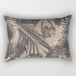 Tropical Jungle Leaves Dream #5 #tropical #decor #art #society6 Rectangular Pillow