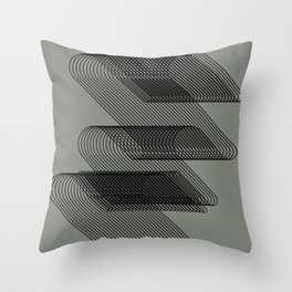 lines 2 Throw Pillow