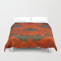 pumpkin Duvet Covers featuring Pumpkin by Renato Armignacco