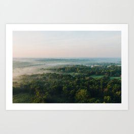 Kentucky from the Air Art Print