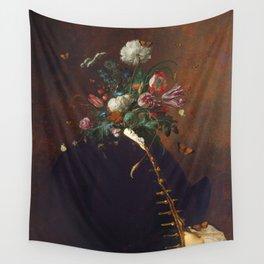 Flower Facade Wall Tapestry