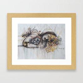 Abeille (bee) Framed Art Print