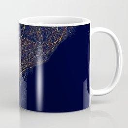 Toronto, Canada - City At Night Coffee Mug