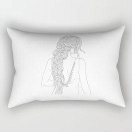 BRAIDGIRLONE Rectangular Pillow