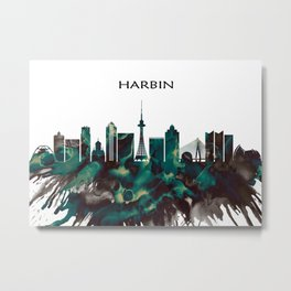 Harbin Skyline Metal Print