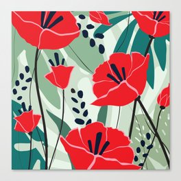 poppy seed Canvas Print
